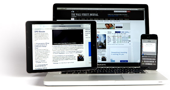 The Wall Street Journal 1 Year Digital Subscription