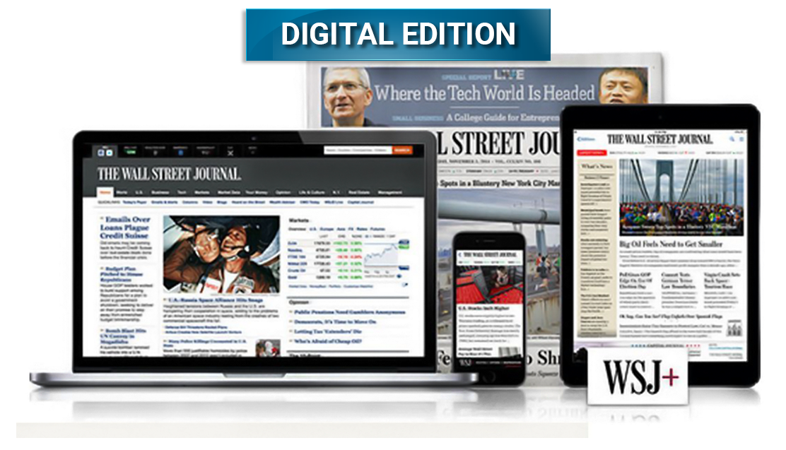Get The Wall Street Journal For Just $1/Week | Use Verified Code Today & Save.